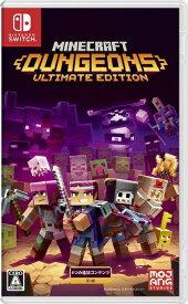 【2021年10月26日発売】 マイクロソフト Microsoft Minecraft Dungeons Ultimate Edition【Switch】 【代金引換配送不可】