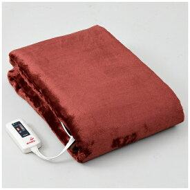 ヤマゼン YAMAZEN 寝るホカロン 電気掛け敷き毛布 吸湿発熱生地使用 YMK-HR40F【rb_warm_cpn】