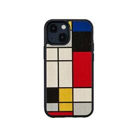 【2021年9月】 ROA ロア iPhone 13 mini対応 5.4inch 天然木ケース Mondrian Wood Man & Wood I21217i13MN