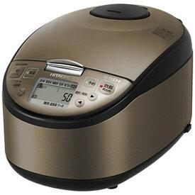 日立 HITACHI 炊飯器 ふっくら御膳 ブラウンメタリック RZ-G10EM-T [5.5合 /圧力IH]