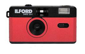 ILFORD Japan イルフォードジャパン 〔フィルムカメラ〕スプライト35-II ブラック&レッド SPRITE 35-II(スプライト35-II) 432992