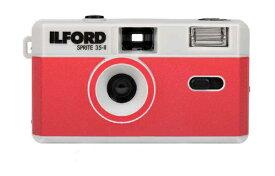 ILFORD Japan イルフォードジャパン 〔フィルムカメラ〕スプライト35-II シルバー&レッド SPRITE 35-II(スプライト35-II) 432993