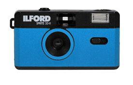 ILFORD Japan イルフォードジャパン 〔フィルムカメラ〕スプライト35-II ブラック&ブルー SPRITE 35-II(スプライト35-II) 432994