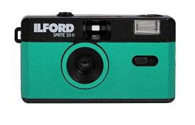 ILFORD Japan イルフォードジャパン 〔フィルムカメラ〕スプライト35-II ブラック&ティールグリーン SPRITE 35-II(スプライト35-II) 432996