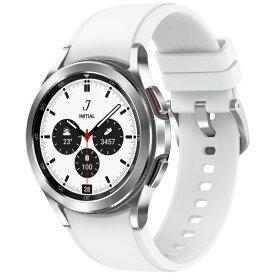 GALAXY ギャラクシー SAMSUNG サムスン SM-R880NZSAXJP スマートウォッチ Galaxy Watch4 Classic 42mm シルバー