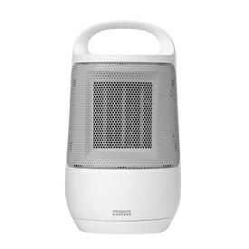 【2021年9月】 Life on Products ライフオンプロダクツ 首振り機能付セラミックファンヒーター PRISMATE ホワイト PR-WA022-WH