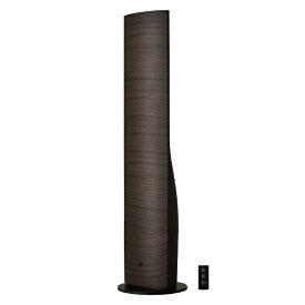 ドウシシャ DOSHISHA タワー型 ハイブリッド加湿器 ダークウッド DKHW-3521-DWD [ハイブリッド(加熱+超音波)式]【rb_warm_cpn】