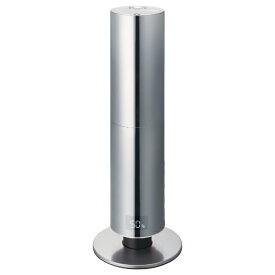 ドウシシャ DOSHISHA クレベリンLED搭載 上部給水式 ハイブリッド加湿器 シルバー WHK-1217CL-SI [ハイブリッド(加熱+超音波)式]【rb_warm_cpn】