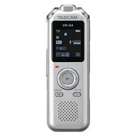 TASCAM タスカム ICレコーダー シルバー VR-04-S [8GB /ワイドFM対応]