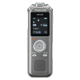 TASCAM タスカム ICレコーダー グレー VR-04-GY [8GB /ワイドFM対応]