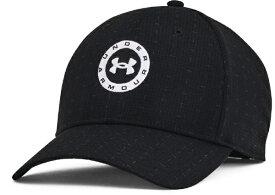 アンダーアーマー UNDER ARMOUR メンズ UAジョーダン スピース ツアー アジャスタブル ハット UA JORDAN SPIETH TOUR ADJUSTABLE HAT(フリーサイズ:頭囲57〜60cm/ブラック) 1361544