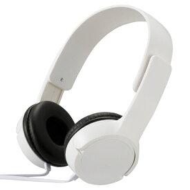 オーム電機 OHM ELECTRIC ステレオヘッドホン AudioComm ホワイト HP-H125N-W [φ3.5mm ミニプラグ]