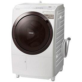 日立 HITACHI ドラム式洗濯乾燥機 ホワイト BD-SX110GL-W [洗濯11.0kg /乾燥6.0kg /ヒーター乾燥(水冷・除湿タイプ) /左開き]