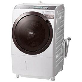 日立 HITACHI ドラム式洗濯乾燥機 フロストホワイト BD-STX110GL-W [洗濯11.0kg /乾燥6.0kg /ヒーター乾燥(水冷・除湿タイプ) /左開き]