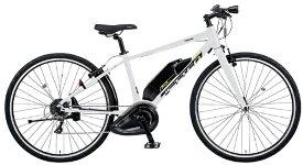 パナソニック Panasonic 【eバイク】電動アシスト自転車 ジェッター JETTER シャインパールホワイト BE-ELHC444F [700C(スポーツ) /8段変速]【2021年モデル】【組立商品につき返品不可】 【代金引換配送不可】