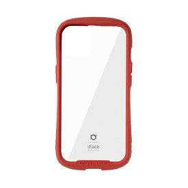 HAMEE ハミィ [iPhone 13 対応 6.1inch 2眼専用]iFace Reflection強化ガラスクリアケース iFace レッド 41-933121