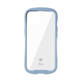 HAMEE ハミィ [iPhone 13 対応 6.1inch 2眼専用]iFace Reflection強化ガラスクリアケース iFace ペールブルー 41-933152