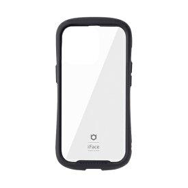 HAMEE ハミィ [iPhone 13 Pro 対応 6.1inch 3眼専用]iFace Reflection強化ガラスクリアケース iFace ブラック 41-933169