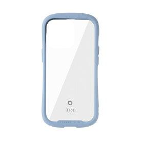 HAMEE ハミィ [iPhone 13 Pro 対応 6.1inch 3眼専用]iFace Reflection強化ガラスクリアケース iFace ペールブルー 41-933220