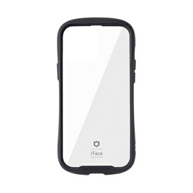 HAMEE ハミィ [iPhone 13 Pro Max対応 6.7inch専用]iFace Reflection強化ガラスクリアケース iFace ブラック 41-933237