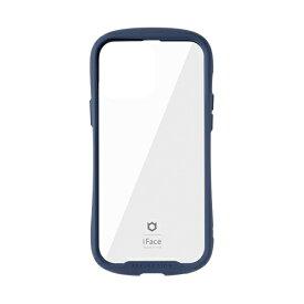 HAMEE ハミィ [iPhone 13 Pro Max対応 6.7inch専用]iFace Reflection強化ガラスクリアケース iFace ネイビー 41-933251