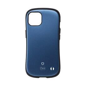 HAMEE ハミィ [iPhone 13 対応 6.1inch 2眼専用]iFace First Class Metallicケース iFace コーラルブルー 41-933657