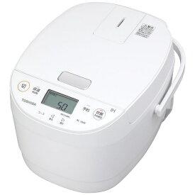 東芝 TOSHIBA 炊飯器 ホワイト RC-10HR-W [5.5合 /IH]