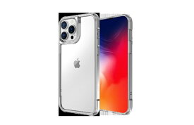 ABSOLUTE TECHNOLOGY アブソルート LINKASE AIR for iPhone 13 Pro Max(側面TPU:クリア)/ ゴリラガラスiPhoneケース