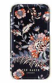 【2021年10月上旬】 Ted Baker テッドベーカー Ted Baker - Folio Case for 2021 iPhone 5.4-inch [ Spiced Up Black Pale Gold ] Ted Baker テッドベーカー 83397