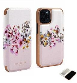 【2021年10月上旬】 Ted Baker テッドベーカー Ted Baker - Folio Case for 2021 iPhone 6.1-inch Pro [ Jasmine Pink Cream Rose Gold ] Ted Baker テッドベーカー 84301