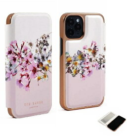 【2021年10月上旬】 Ted Baker テッドベーカー Ted Baker - Folio Case for 2021 iPhone 5.4-inch [ Jasmine Pink Cream Rose Gold ] Ted Baker テッドベーカー 83489