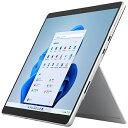 【2021年11月01日発売】 マイクロソフト Microsoft Surface Pro8[SSD 256GB/メモリ 8GB/Intel Core i5/プラチナ/2021…