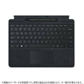 【2021年11月01日発売】 マイクロソフト Microsoft Surface Pro スリム ペン2付き Signature キーボード ブラック 8X6-00019