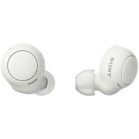 ソニー SONY フルワイヤレスイヤホン ホワイト WF-C500 WZ [マイク対応 /ワイヤレス(左右分離) /Bluetooth]