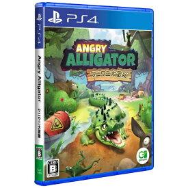 【2021年12月02日発売】 goGame Angry Alligator ワニワニ大冒険【PS4】 【代金引換配送不可】