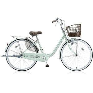 ブリヂストン BRIDGESTONE 自転車 アルミーユ P.Xオパールミント AU60 [26型 /変速なし /26インチ]【組立商品につき返品不可】 【代金引換配送不可】