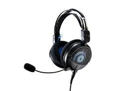 オーディオテクニカ audio-technica ATH-GDL3 BK ゲーミングヘッドセット ブラック [φ3.5mmミニプラグ /両耳 /ヘッドバンドタイプ]