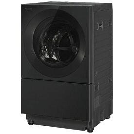 【2021年12月01日発売】 パナソニック Panasonic ドラム式洗濯乾燥機 Cuble(キューブル) スモーキーブラック NA-VG2600L-K [洗濯10.0kg /乾燥5.0kg /ヒーター乾燥(排気タイプ) /左開き]【2021年12月上旬出荷予定】