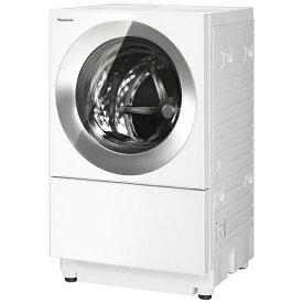 【2021年12月01日発売】 パナソニック Panasonic ドラム式洗濯乾燥機 Cuble(キューブル) フロストステンレス NA-VG2600L-S [洗濯10.0kg /乾燥5.0kg /ヒーター乾燥(排気タイプ) /左開き]【2021年12月上旬出荷予定】