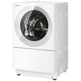 【2021年12月01日発売】 パナソニック Panasonic ドラム式洗濯乾燥機 Cuble(キューブル) シルバーグレー NA-VG760L-H [洗濯7.0kg /乾燥3.5kg /ヒーター乾燥(排気タイプ) /左開き]【2021年12月上旬出荷予定】