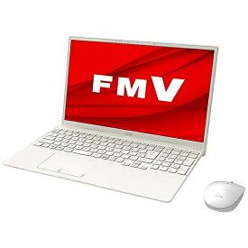 【2022年1月下旬】 富士通 FUJITSU ノートパソコン LIFEBOOK TH90/F3 アイボリーホワイト FMVT90F3W [15.6型 /intel Core i7 /メモリ:16GB /SSD:512GB /2022年1月モデル]