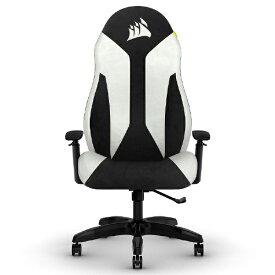 CORSAIR コルセア CF-9010037-WW ゲーミングチェア TC60 FABRIC Chair ホワイト/ブラック