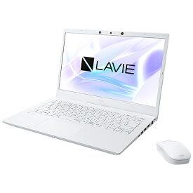 NEC エヌイーシー ノートパソコン LAVIE N14 パールホワイト PC-N1475CAW [14.0型 /intel Core i7 /メモリ:8GB /SSD:512GB /2021年秋冬モデル]【rb_win11】