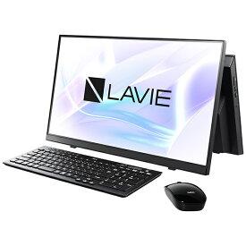 NEC エヌイーシー デスクトップパソコン LAVIE A23 ファインブラック PC-A2365CAB [23.8型 /intel Core i7 /メモリ:8GB /SSD:512GB /2021年秋冬モデル]【rb_win11】