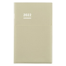 コクヨ KOKUYO ジブン手帳Biz2022 マットカバータイプ ニ-JB1LS-22 ライトベージュ