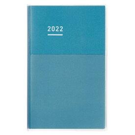 コクヨ KOKUYO ニ-JD1B-22 JIBUN_TECHO(ジブン手帳)DAYs2022 ブルー