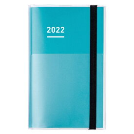 コクヨ KOKUYO ジブン手帳mini2022ファーストキット スタンダードカバータイプ ニ-JFM1G-22 グリーン
