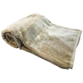 生毛工房 UMO KOBO ラフィーナニューマイヤー毛布(シングルサイズ/140×200cm/ベージュ)