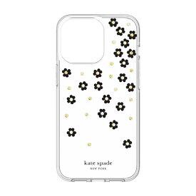 ケイト・スペード ニューヨーク kate spade new york iPhone2021 6.1inch 3眼 Protectiveケース フラワー KSIPH-208-SFLBW