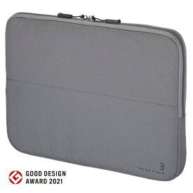 コクヨ KOKUYO ノートパソコン対応[13.3インチ] フラットPCバッグ THIRD FIELD ダークグレー TFD-P11DM